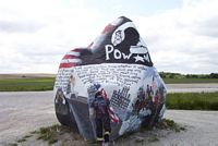 Patriotic Painted Rock